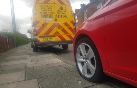 mobile tyre fitting service northwest